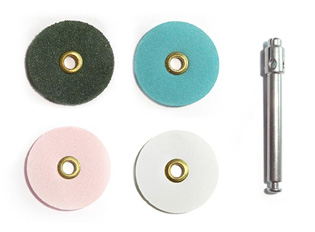 Flexible Polishing Discs - Assorted Set