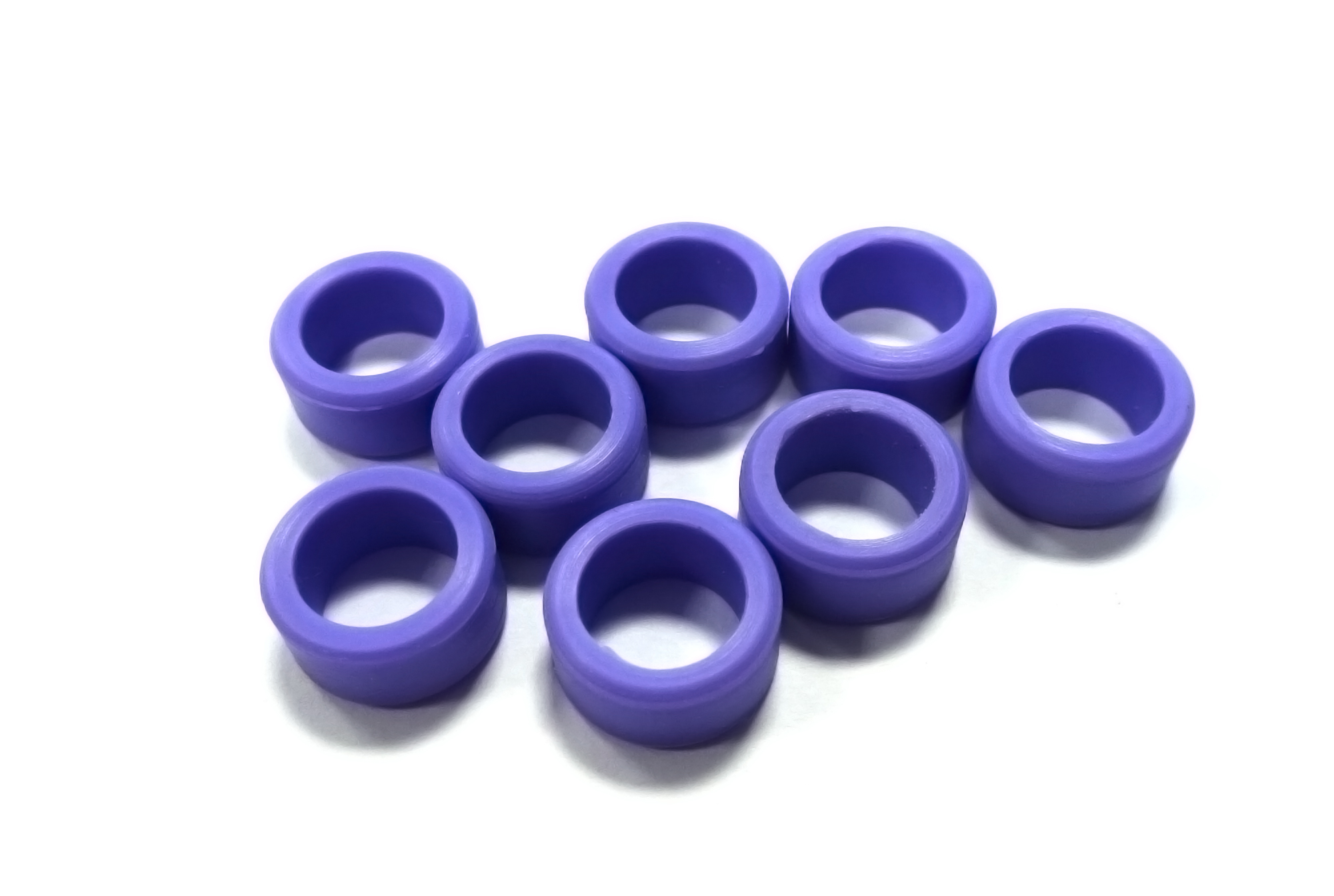 Instrument Ring - Large Lavender - 8pcs