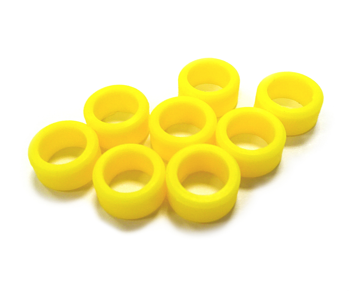 Instrument Ring - Large Yellow - 8pcs