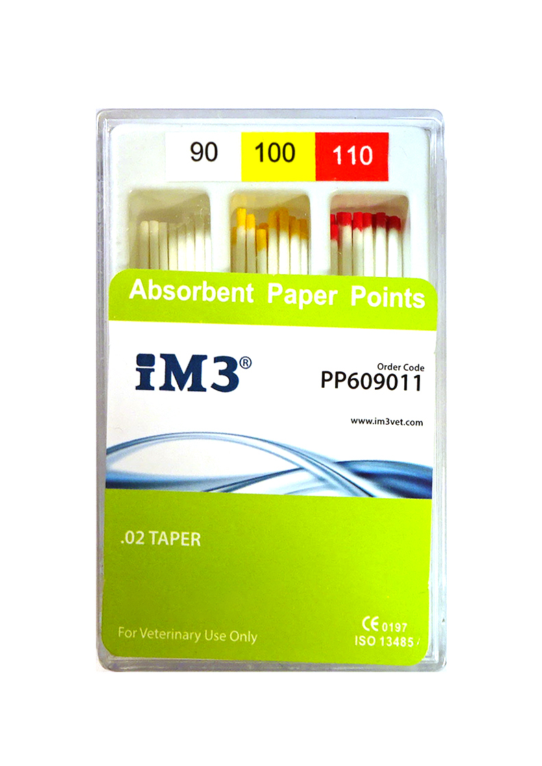 Paper Points - 60mm - ISO 90-110 - 60pcs