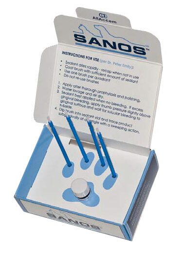 SANOS Veterinary Dental Sealant  - Single Application Kit